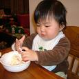 1歳 初ケーキ