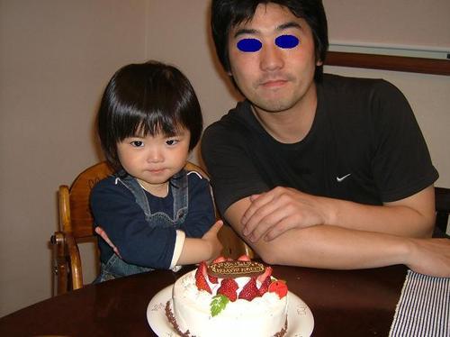 2歳の誕生日♪